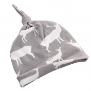 Baby Boys Girls Stretch Deer Print Winter Hat Winter Fashion Caps Xmas Gift