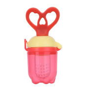 Baby Food Feeder Silicone Pacifier 100% BPA Free Safe Chew For Baby Toddler Solid Fruit Vegetable