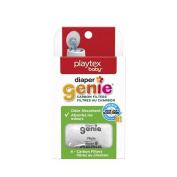 Nappy Genie Playtex Safe Natural Activated Carbon Filter Refill Tray for Nappy Pails Comes with 4 carbon filters