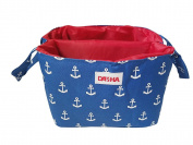 Danha Blue Anchor Nappy Storage Caddy