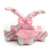 Nikki's Tricycle Nappy Gift For Girls Is The Perfect New Baby Gift Or Shower Gift
