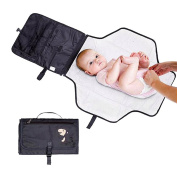 Hiltow Luxury Baby Change Pad - Portable Nappy Changing Station for Travel and Home