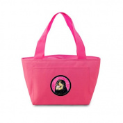 Caroline's Treasures SS4788-PK Tibetan Mastiff Lunch or Doggie Bag, Large, Pink