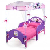 Minnie's Bow-Tique Canopy Toddler Bed