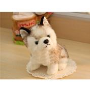 WuKong Stuffed Animals Plush Toys Husky Design Doll Cute Dog Figures (L