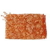 JYS Newborn Maternity Props Lace Photography Photo Props Quilt Stretch Wrap - Orange