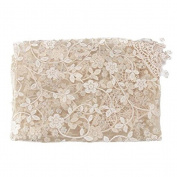 JYS Newborn Maternity Props Lace Photography Photo Props Quilt Stretch Wrap - Beige