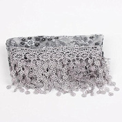 JYS Newborn Maternity Props Lace Photography Photo Props Quilt Stretch Wrap - Grey
