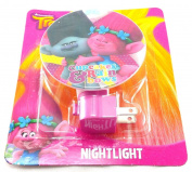 Dreamworks Trolls Branch & Poppy Cupcakes & Rainbows Pink Night Light