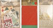 Tim Holtz Idea-ology Christmas - 2016 Deco Sheets, Christmas Ephemera & Gilded Christmastime Remnant Rubs