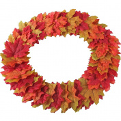 Gtidea 300pcs Artificial Fall Maple Leaves Silk Petals Scatters Wholesale Home Party Ceremony Wedding Decor Mixture Colours