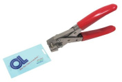 Heavy Duty Stainless Steel Badge Slot Punch does Larger Hole in PVC Cards by Oregon Lamination Premium