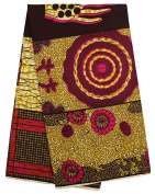 African Print Ankara Fabric Clothing Designs cotton Material For Fashion Dresses 6yards