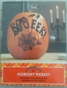Halloween Midnight Market Pumpkin Decorating Kit
