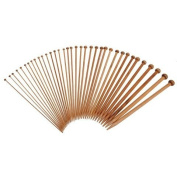 36 Pieces Bamboo Knitting Needles