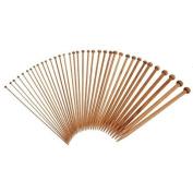 36 Pieces Bamboo Knitting Needles