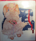 Country Cross Stitch ... Victorian Bunny