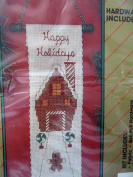 Christmas Holiday Bell Pull Kit ... Happy Holidays ... Gingerbread House ... Hardware Included