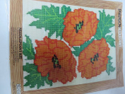 POPPIES NEEDLECRAFT #5402 BY PARAGON 1977