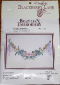 Marlo Swag - Blackberry Lane Brazilian Embroidery pattern #137