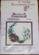Summer Garden - Blackberry Lane Brazilian Embroidery pattern #140