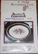 Diana's Rose - Blackberry Lane Brazilian Embroidery pattern #155
