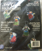 Sweet Angels Felt Ornaments Kit 28049