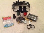 Travel Sewing Kits with Carrying Cases