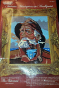 The Fisherman - Wonder Art Needlepoint Kit #6802 - 30cm x 41cm