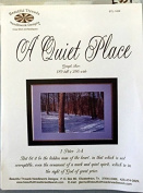 A QUIET PLACE Cross Stitch Pattern- Trees - Graph Size 189 Tall x 286 Wide