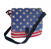 Americana Canvas Satchel Handbag