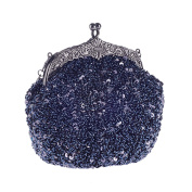 ABage Women's Clutch Purse Sequin Kiss-lock Cocktail Wedding Party Evening Bags