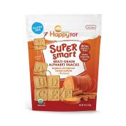Happy Family Tot Super Smart Multi-Grain Alphabet Snacks Cinnamon Sweet Potato, 130ml