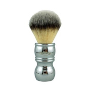 RazoRock Chrome Silvertip Plissoft Synthetic Shaving Brush