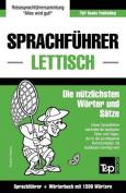 Sprachfuhrer Deutsch-Lettisch Und Kompaktworterbuch Mit 1500 Wortern [GER]