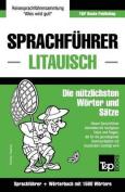 Sprachfuhrer Deutsch-Litauisch Und Kompaktworterbuch Mit 1500 Wortern [GER]