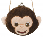 Chimp Clasp Purse by Wild Republic - KM87714