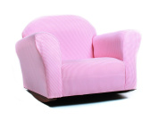 Fantasy Furniture Roundy Rocking Chair - Pink Gingham