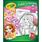 Crayola Disney Palace Pets Colour 'n Sticker Books