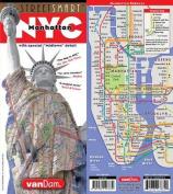 Streetsmart NYC Midtown Map by Vandam