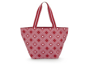 All For Colour Red Geo Tote
