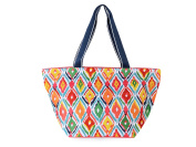 All For Colour Multi Ikat Large Tote