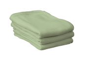 Foundations CB-00-MT-06 Softness Crib Blanket, 80cm Length, 100cm Width, 2.5cm Thick, Green