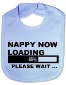 Nappy Now Loading - Funny Baby/Toddler/Newborn Bib Gift