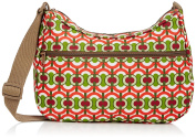 Re-Uz Women's Re-Uz Oilcloth Messenger - Swirls Cross-Body Bag