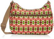 Re-Uz Women's Re-Uz Oilcloth Messenger - Swirls Cross-Body Bag