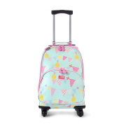 Penny Scallan Pineapple Bunting 4 Wheel Spinner Trolley Suitcase 4 Wheels Pineapple Bunting