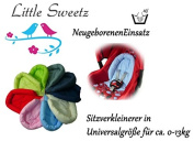 Sweet littlez * * Cosy Soft Light Blue * * Reducer Cushion for Baby/Body Protector for Car