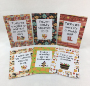 Autumn Activity Milestone Cards for Babies, Toddlers & Children