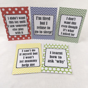 Alternative Toddler Milestone Cards - Bright